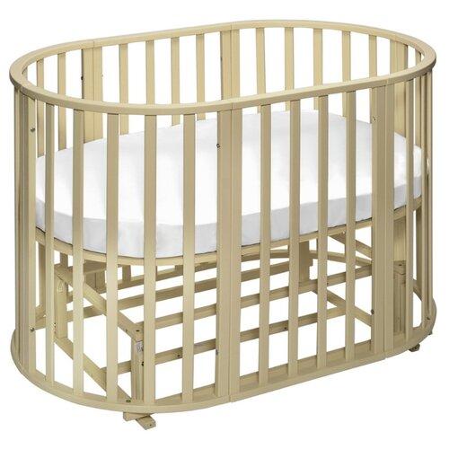 Кроватка SWEET BABY Delizia V2 9 в 1 (трансформер), поперечный маятник avorio детские кроватки sweet baby ennio маятник поперечный