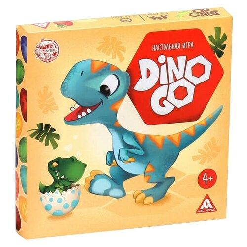 Купить Настольная игра Лас Играс Dino Go, Настольные игры