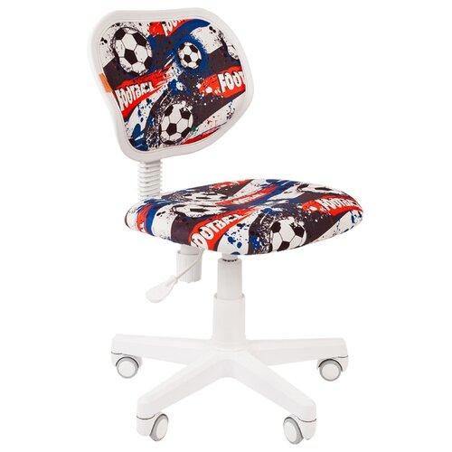 Компьютерное кресло Chairman Kids 106 детское, обивка: текстиль, цвет: футбол компьютерное кресло chairman kids 106 детское обивка текстиль цвет автобусы