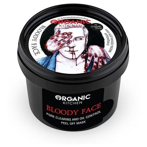 Organic Kitchen маска-пленка bloggers Bloody Face очищающая @dmitrykrikun, 100 мл маска пленка очищающая