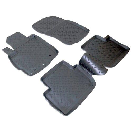 Комплект ковриков NorPlast NPL-Po-59-33 4 шт. черный комплект ковриков norplast npl po 29 33 4 шт черный