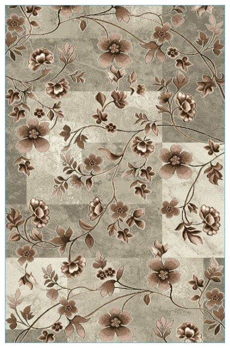 Люберецкие ковры Ковер с цветами кашемир F-50202-37 2x3 м.