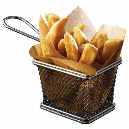 Корзинка для закусок P.L.-Proff Cuisine 70370307 серебристая