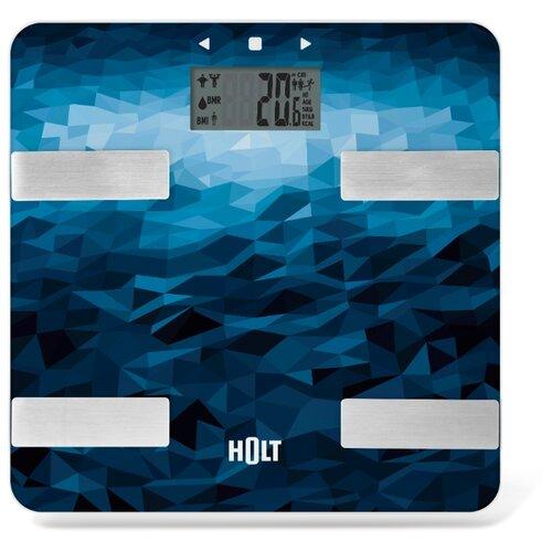 Весы напольные электронные / Платформенные весы / Бытовые напольные весы Holt HT-BS-010 море
