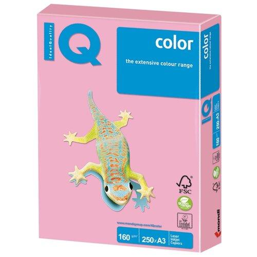 Фото - Бумага IQ Color А3 160 г/м2 250 лист. розовый PI25 1 шт. бумага iq color а4 color 120 г м2 250 лист кораллово красный co44 1 шт