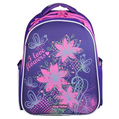 Mag Taller Рюкзак Stoody Flowers, фиолетовый mag taller рюкзак stoody racing черный