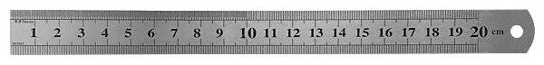 Строительная линейка FIT 19002 200 мм