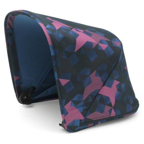Bugaboo Капюшон защитный для коляски Fox/Cameleon 3 Birds синий/фиолетовый автокресло 0 bugaboo turtle by nuna car seat для коляски cameleon 80703zw01 80401mc02