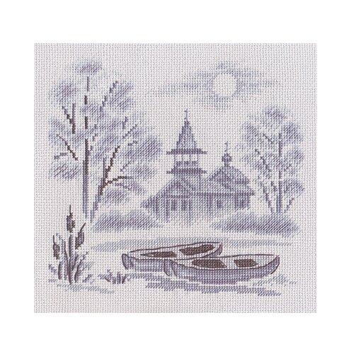 Купить PANNA Набор для вышивания Туман над рекой 21 х 21 см (ПС-1057), Наборы для вышивания