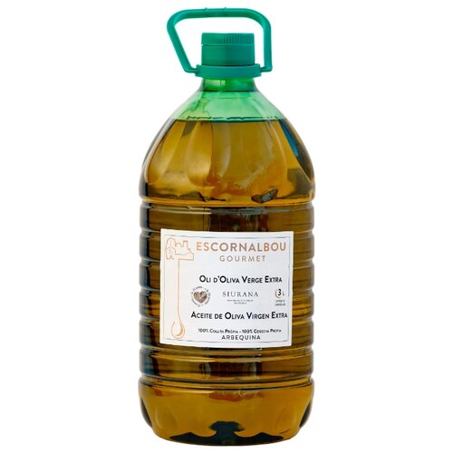 itlv масло оливковое extra virgen 0 75 л Escornalbou Масло оливковое Extra virgen, пластиковая бутылка 3 л