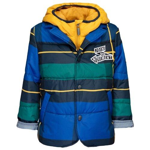 Купить Куртка Gulliver 21904BMC4103 размер 128, синий, Куртки и пуховики