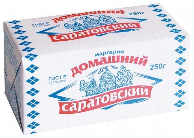 Саратовский Маргарин домашний 60%, 250 г