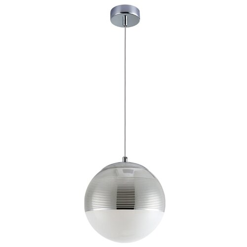 Светильник Crystal Lux Optima SP1 Chrome D200, E14, 60 Вт светильник fametto dls l127 2001 luciole chrome glass
