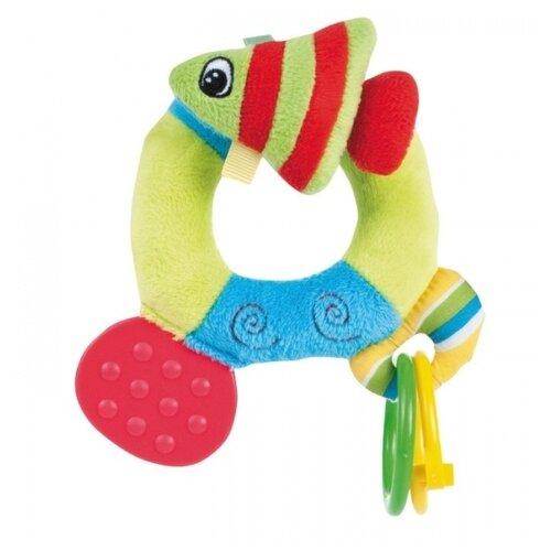 коврики для купания canpol цветной океан 5 шт 80 003 Прорезыватель-погремушка Canpol Babies Цветной океан 68/015 рыбка