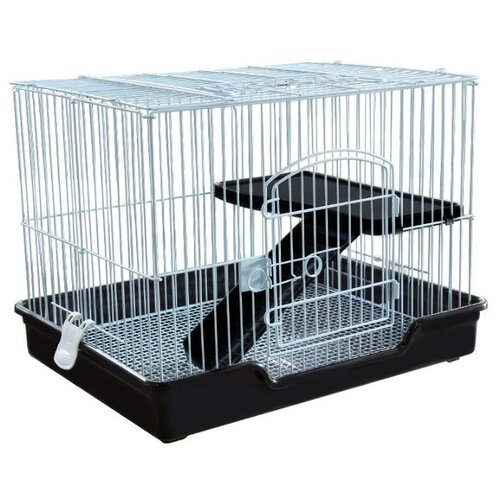 Фото - Клетка для грызунов, хорьков Triol C5 61 см серебристый клетка для грызунов kredo для хорьков 100х57х118 см 5 эт пласт поддон уком