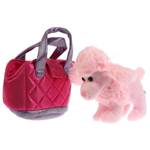 Мягкая игрушка собака 15см в сумочке, в пак. (русс. уп.) Мой питомец , Мягкие игрушки  - купить со скидкой