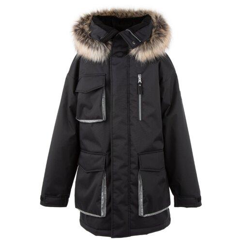 Купить Куртка KERRY Warm K20673 размер 140, 989 черный, Куртки и пуховики