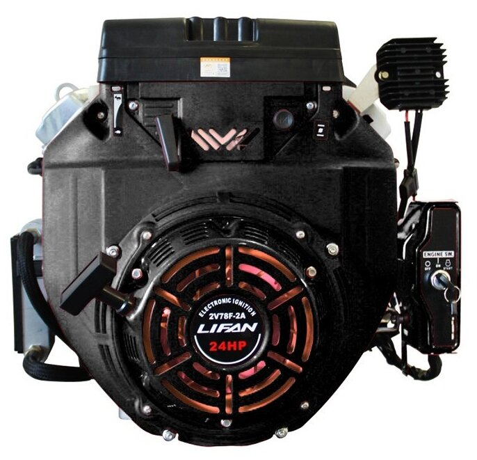 Бензиновый двигатель LIFAN LF2V78F 2A