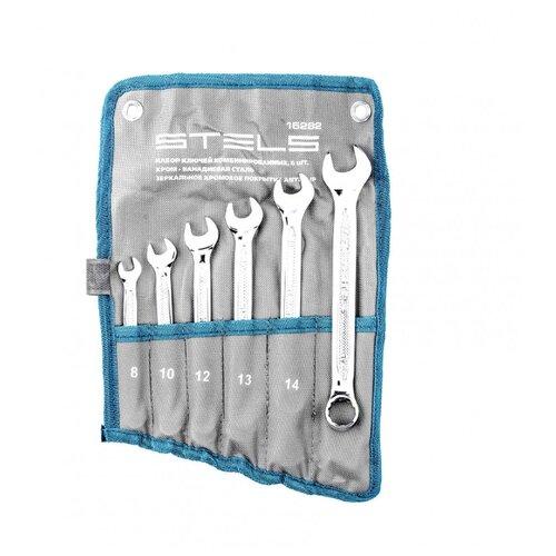 Набор инструментов Stels (6 предм.) 15282 серебристый набор инструментов rexant 6 предм 12 5843 серебристый