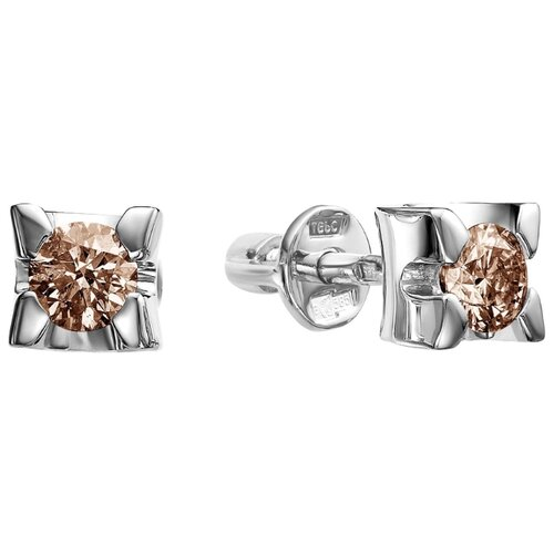 Vesna jewelry Серьги-пусеты 4104-256-09-00