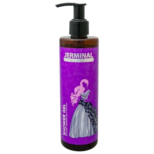 Гель для душа JERMINAL cosmetics Черника в йогурте, 300 мл rituals cosmetics купить в барселоне