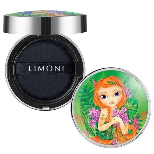 Limoni Тональный флюид All Stay Cover Cushion SPF 35 / PA++ Jungle Princess, оттенок: 02