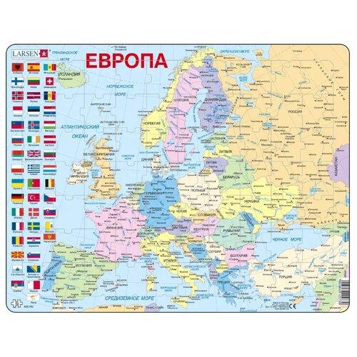 Купить Пазл Larsen Европа (A35), 70 дет., Пазлы