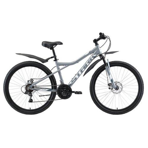 Горный (MTB) велосипед STARK Slash 26.2 D (2020) серый/белый/серый 18