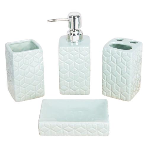 Фото - Набор для ванной Доляна Звезды, голубой набор для ванной доляна грация 2698471 персиковый