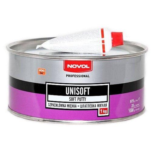 Комплект (шпатлевка, отвердитель) NOVOL UNISOFT 1 кг