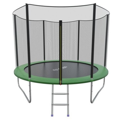 Каркасный батут EVO Jump 8FT External складной 244х244х210 см green каркасный батут oxygen fitness standard inside 8ft 244х244 см синий