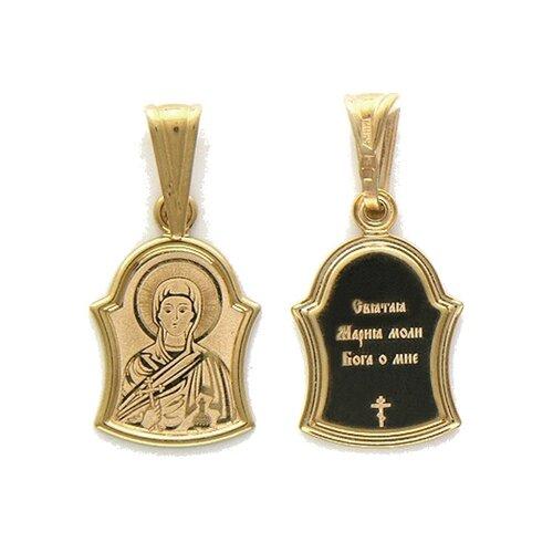 Фото - Эстет Подвеска-иконка Святая Мария Магдалина из красного золота 01П011136 подвеска иконка святая фотина из красного золота