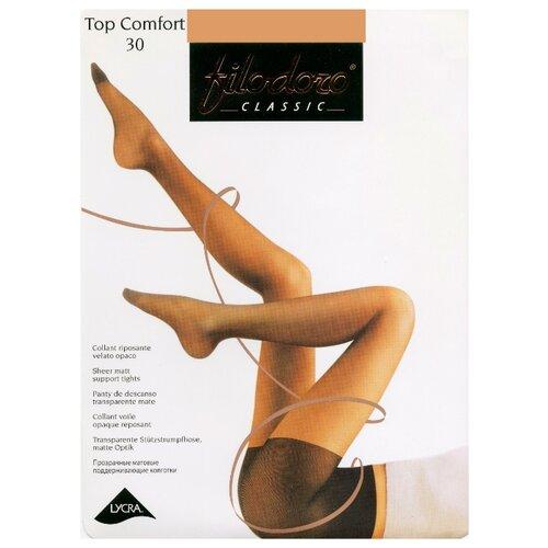 Колготки Filodoro Classic Top Comfort 30 den, размер 5-XL, nero (черный) кроссовки для девочки ташики anatomic comfort цвет черный 017114 490 размер 30 31 5