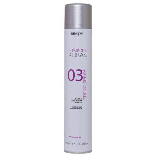 Dikson Keiras Finish Лак для укладки волос Finish Fixing 03, сильная фиксация, 500 мл