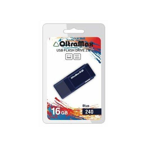 Фото - Флешка OltraMax 240 16GB blue флешка oltramax 240 16gb red