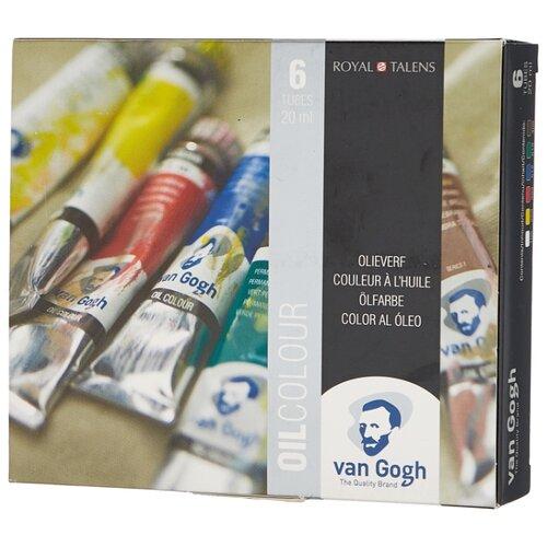 Фото - Van Gogh Масляные краски Oil Colour Стартовый 6 цветов 20 мл (02821406) viorica guy marica van gogh
