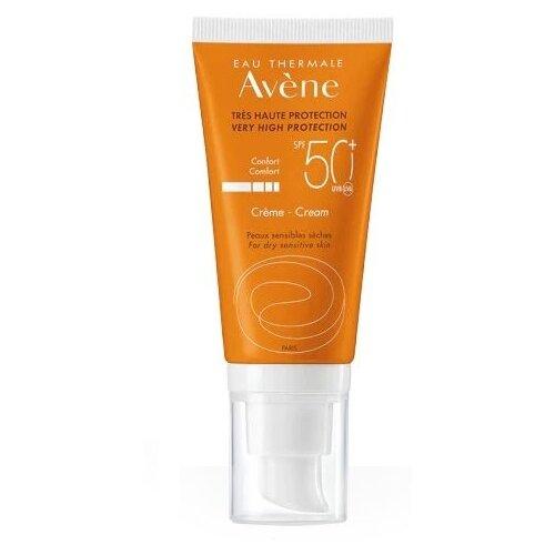 AVENE крем Comfort для сухой чувствительной кожи, SPF 50, 50 мл avene питательный компенсирующий крем 50 мл