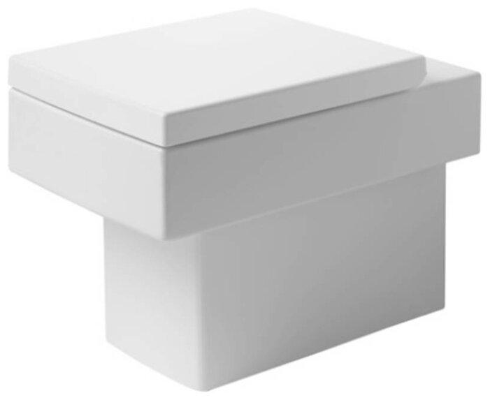 Чаша унитаза напольная DURAVIT Vero 211609 (белый) с горизонтальным выпуском