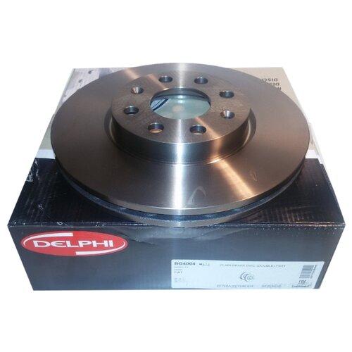 Комплект тормозных дисков передний DELPHI BG4004 257x22 для Opel Adam, Opel Corsa, Fiat Grande Punto, Fiat Punto (2 шт.)