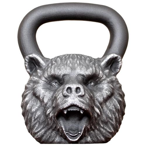 Гиря цельнолитая Iron Head Медведь 16 кг