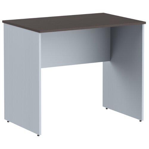 Письменный стол Skyland Imago СП, ШхГ: 90х60 см, цвет: венге магия/металлик стеллаж skyland imago су 2 3 полки материал лдсп шxгxв 41х36х120 см ясень шимо