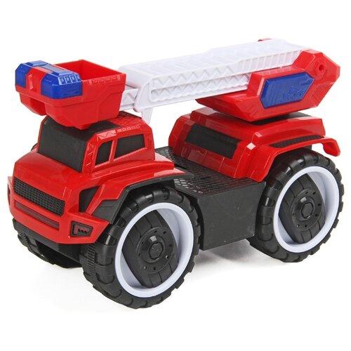 Купить Машинка Bei Yu Jia 80894 22 см красный, Машинки и техника