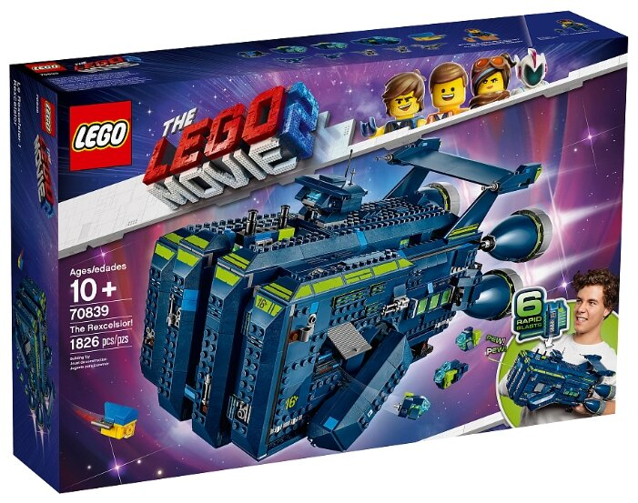 Конструктор LEGO The LEGO Movie 70839 Рэксельсиор