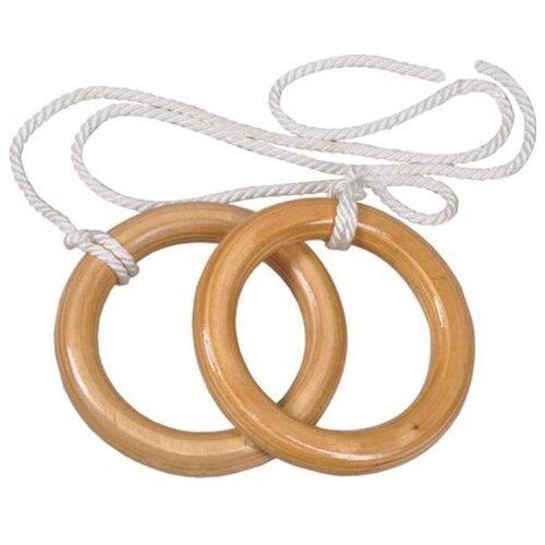 Гимнастические кольца КМС 942, светло-бежевый