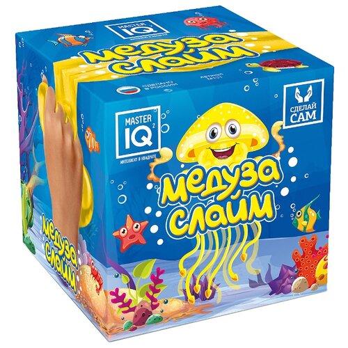 Купить Набор Master IQ² Сделай сам. Медуза слайм желтый, Наборы для исследований