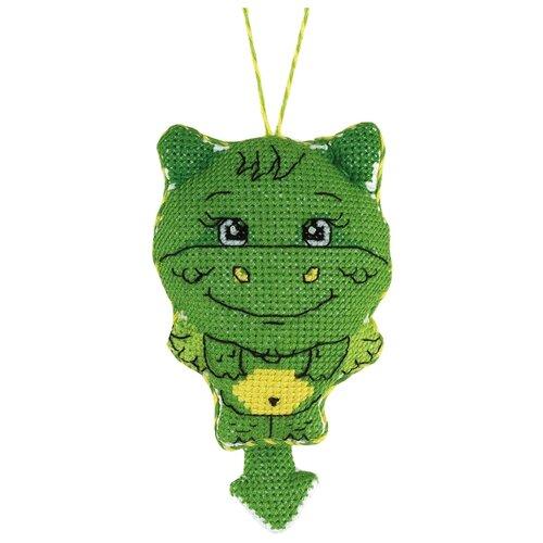 Купить PANNA набор для вышивания Игрушка Дракончик 7 х 10 см, (IG-1560), Наборы для вышивания