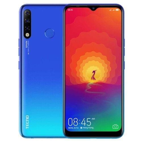 Смартфон TECNO Spark 4 синий (TCN-KC8-VABL)