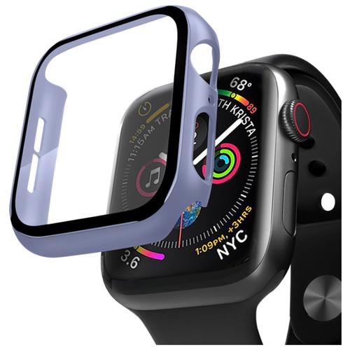 Кейс со стеклом Deppa для Apple Watch 4/5 series 44 мм лавандовый