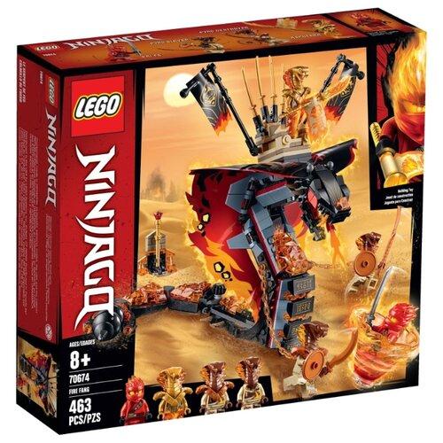 Конструктор LEGO Ninjago 70674 Огненный кинжал lego ninjago конструктор крыло судьбы 70650