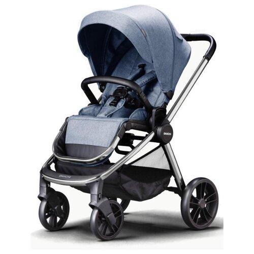 Прогулочная коляска Daiichi Allee milky blue/chrome, цвет шасси: серебристый, Коляски  - купить со скидкой